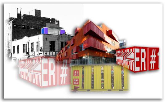 Vivir en contenedores de transporte reciclados objectbis - Contenedores para vivir ...