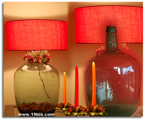 2 vida para una botella de vidrio transformaci n de una - Como hacer lamparas con botellas de vidrio ...