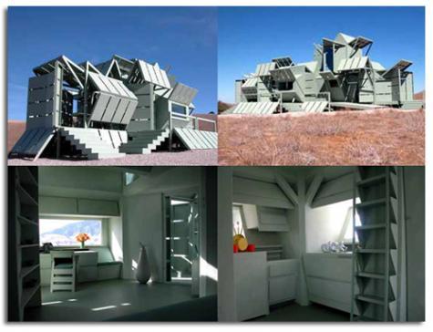 Viviendas modulares se acoplan y se desmontan para for Viviendas modulares diseno