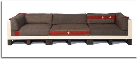 Muebles hechos con pales c mo reutilizar y reciclar for Sillones hechos con palets de madera