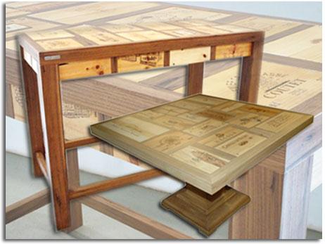 Reutilizar tapaderas de las cajas de vinos para elaborar - Decorar con cajas de vino de madera ...