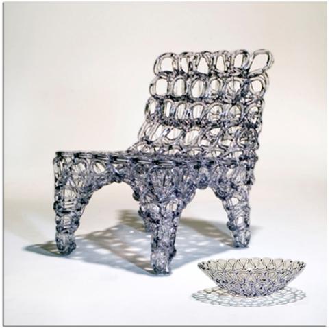 Objetos de pl stico reciclables objectbis dise o for Reciclado de muebles y objetos