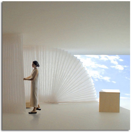 Exposici n de molo en burgos separador de espacios de - Muebles separadores de espacios ...