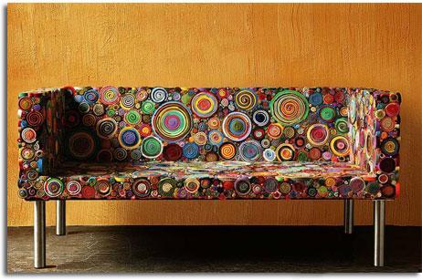 Detalles y retos muebles y decoracion con material for Decoracion vintage reciclado