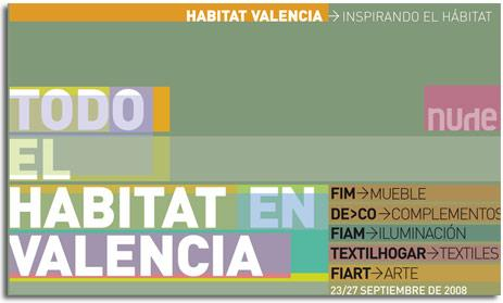 HABITAT VALENCIA FORWARD. FERIA INTERNACIONAL DEL MUEBLE DE VALENCIA