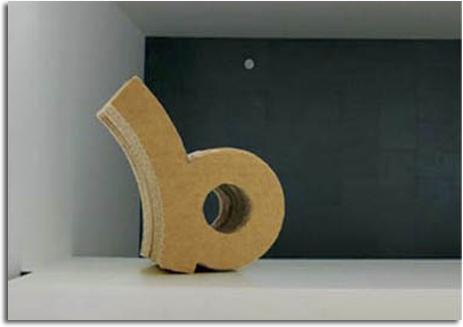 Silla de cart n ondulado 100 biodegradable feria - Carton valencia ...