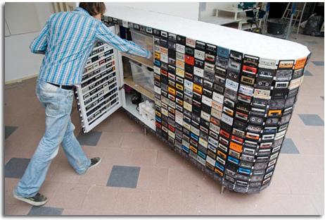 segunda vida de las cintas de y reutilizar las cintas de cassette para