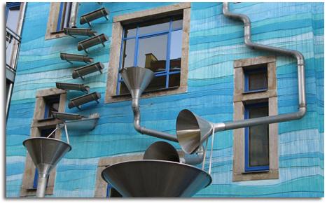 Edificio Que Permite Reciclar El Agua De Lluvia