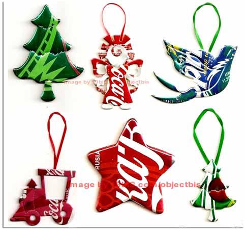 Navidades ecol gicas adornos navide os reciclados - Ideas para hacer adornos de navidad ...