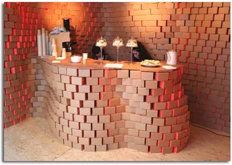 Decoraci n de interiores y muebles de cajas de cart n - Estudio de decoracion de interiores ...