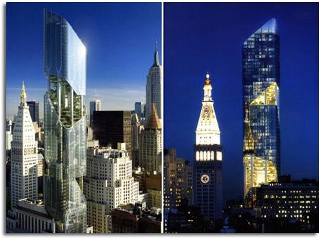 TORRE CON JARDINES EN NUEVA YORK