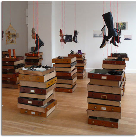 Dise o de interiores decoraci n de tienda con material - Muebles naturales para pintar ...
