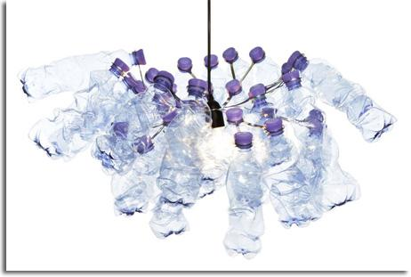 DECORADOS PARA EVENTOS CON BOTELLAS DE PLÁSTICO. SISTEMA PET LIGHT 33