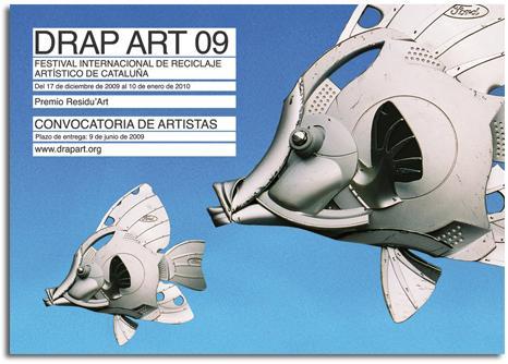 DRAP ART 09. FESTIVAL INTERNACIONAL DE RECICLAJE ARTÍSTICO. CONVOCATORIA DE ARTÍSTAS