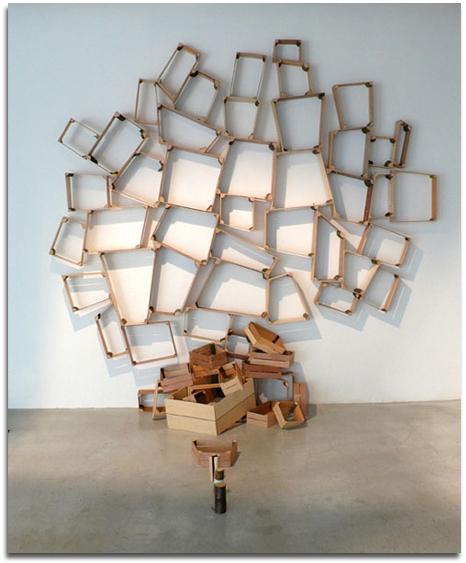 Muebles de reciclaje art stico peter marigold objectbis for Reciclado de muebles y objetos