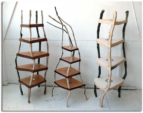 Muebles de reciclaje art stico peter marigold objectbis for Muebles con objetos reciclados