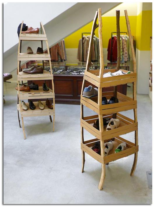 Muebles de reciclaje art stico peter marigold objectbis for Muebles reciclados de diseno