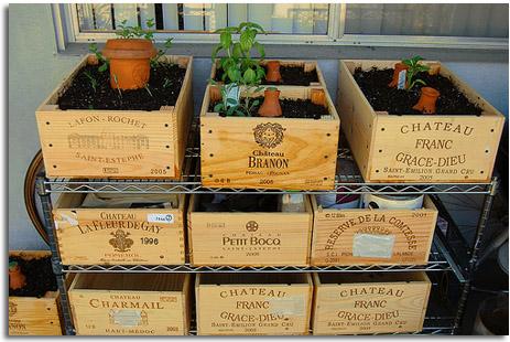 Decorar y ordenar con cajas para vinos recicladas - Cajas de vino para decorar ...
