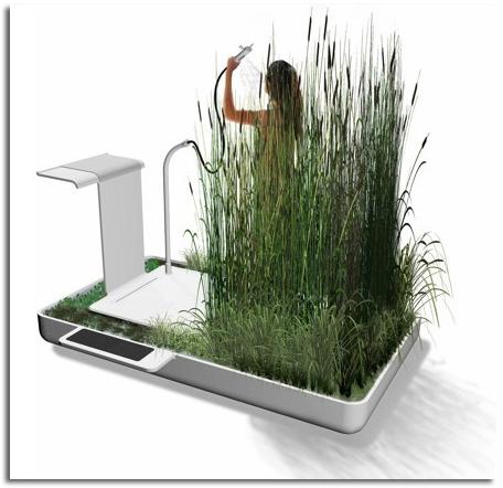 Reciclar agua de la ducha peque o ecositema para el hogar for Todo el diseno del hogar