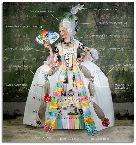 Costumes Made From Recycled Materials