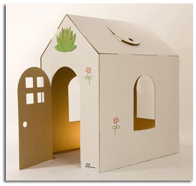 Muebles de cart n decoraci n infantil ecol gica - Construir y decorar casas ...