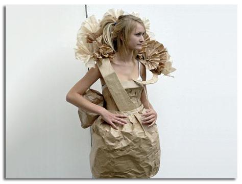 Disfraces de reciclaje - Imagui