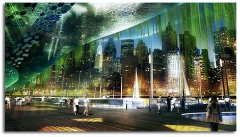 GRANJA URBANA VERTICAL DRAGONFLY PARA NUEVA YORK