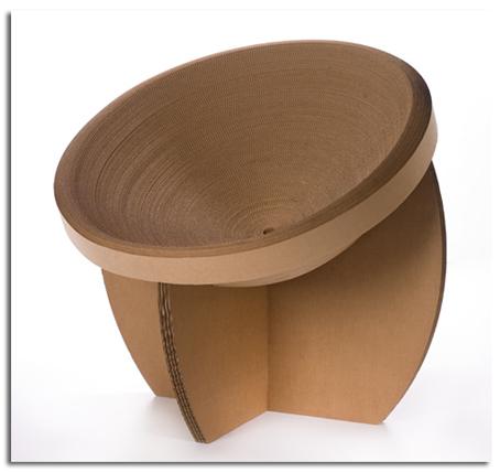 Muebles de cart n reciclado y reciclables mobiliarios de dise o ecol gico objectbis dise o - Muebles de carton ...