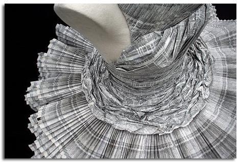 Diseño Y Glamour En Papel Vestidos De Papel Objectbis