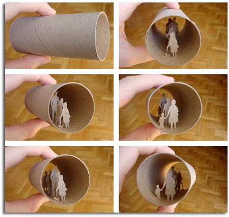Reciclar rollos de papel higiÉnico de forma artÍstica – objectbis ...