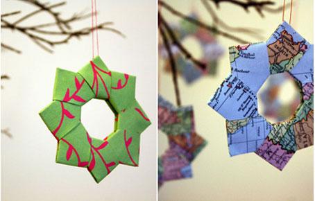 Adornos Navideños De Material Reciclado Navidad Ecológica