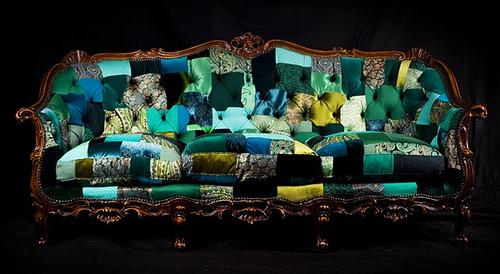 Muebles de lujo hechos con material reciclado objectbis - Reciclado de muebles viejos ...