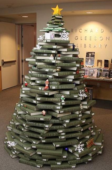 Los rboles de navidad reciclados m s originales del 2012 - Originales arboles de navidad ...