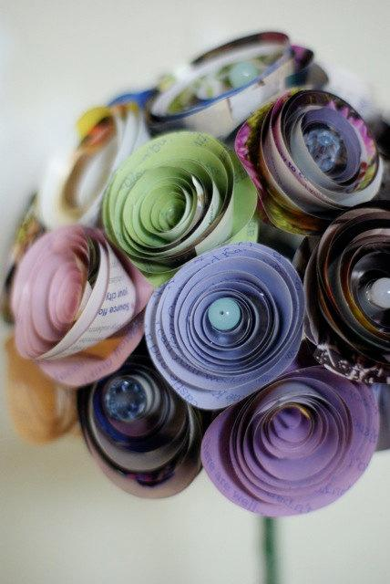 Flores En Material Reciclaje