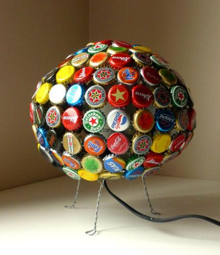IDEAS PARA RECICLAR CHAPAS DE BOTELLAS