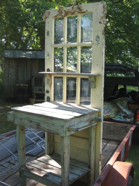 Reciclar puertas 20 ideas para decorar reutiliz ndolas for Reciclar puertas