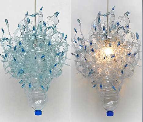Reciclaje creativo johanna keimeyer recicla envases de for Plastic bottle decoration images