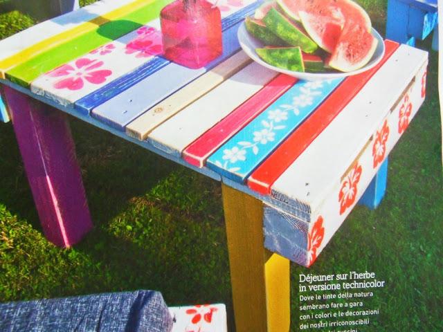 Muebles hechos con palets decorar jard n objectbis - Reciclar palets para jardin ...