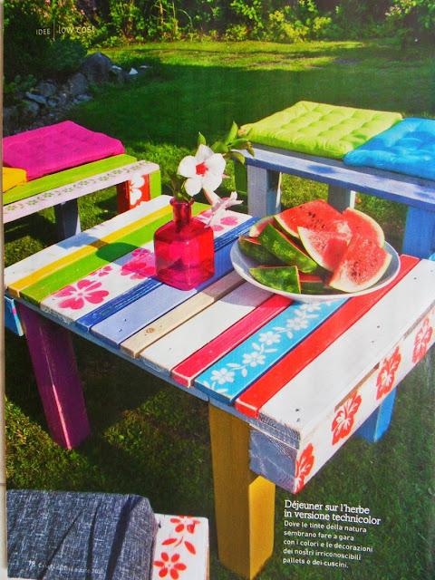 Muebles hechos con palets decorar jard n objectbis - Muebles de jardin hechos con palets ...