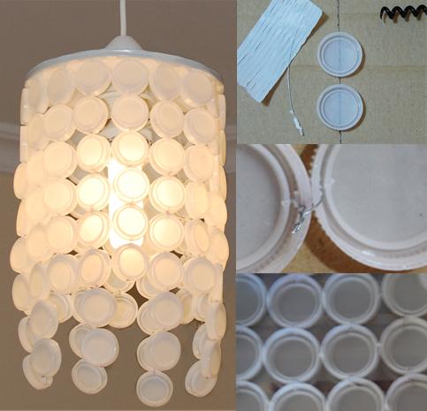 Junio 2012 p gina 2 objectbis dise o ecol gico creativo - Lamparas de techo hechas en casa ...