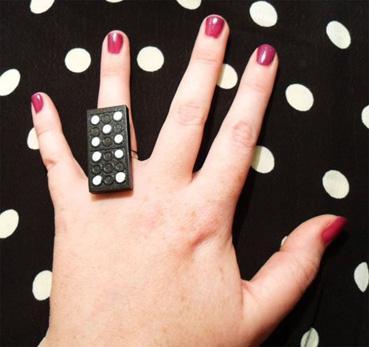 reciclar fichas de dominó