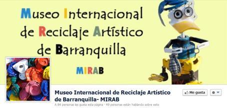 PROYECTO MIRAB. 1º MUSEO INTERNACIONAL DE RECICLAJE ARTÍSTICO DE BARRANQUILLA(COLOMBIA)