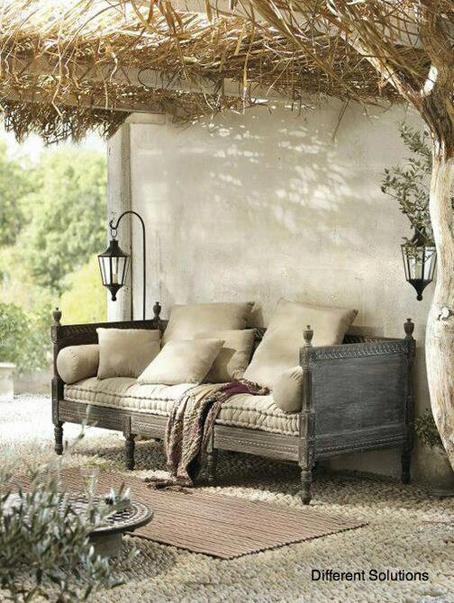 cama transformada en sofás