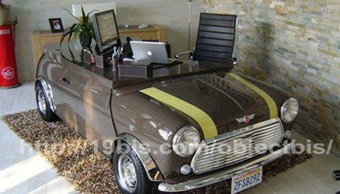 oficina coche reciclado
