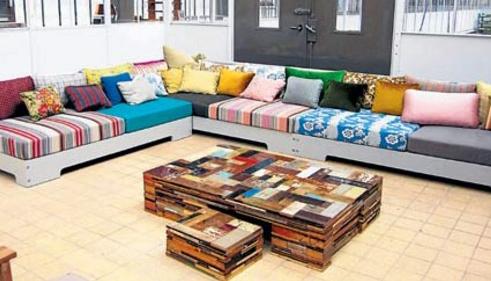 Reciclaje para generar piezas alternativas en el hogar for Muebles reciclados de diseno
