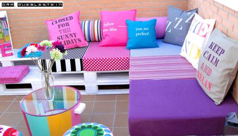 Muebles de paletas o pallets reciclados para decorar for Ideas para reciclar muebles