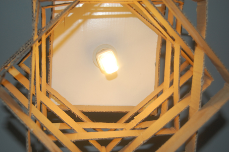 lampara-carton-luz