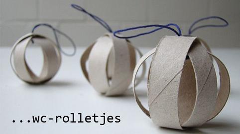 Adornos navide os reciclando tubos de papel higi nico - Adornos navidenos con rollos de papel higienico ...