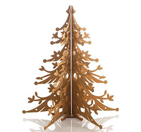 Rbol de navidad de cart n reciclado objectbis dise o - Como hacer un arbol de navidad de carton ...