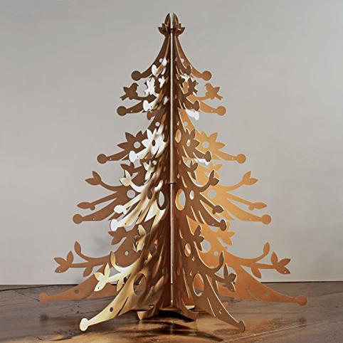 Arbol de navidad en carton imagui - Como hacer un arbol de navidad de carton ...